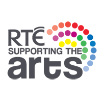 The RTÉ Supporting the Arts logo